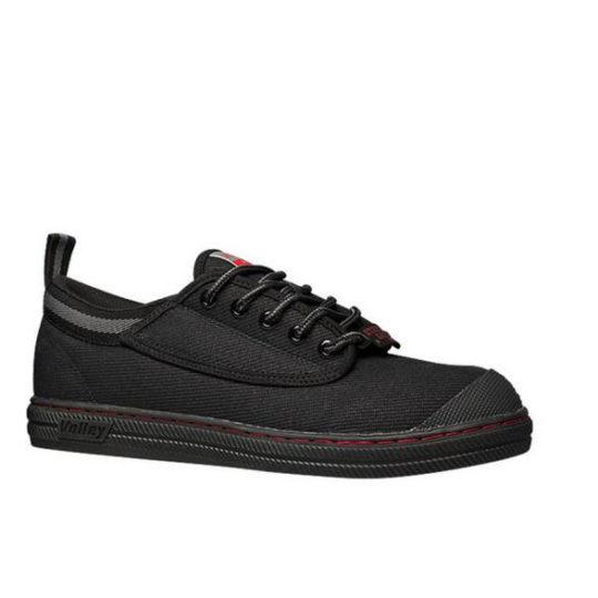 Steel Cap Dunlop Volleys Black