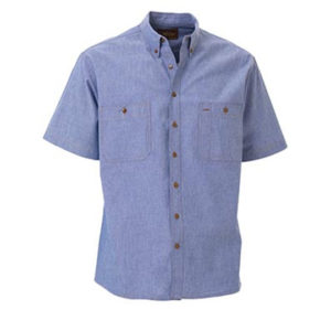 Bisley Chambray Short Sleeve Shirt