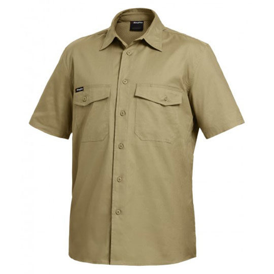 King Gee- Work Cool 2 S/S Shirt