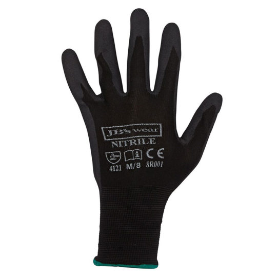 JB'S Black Nitrile Glove