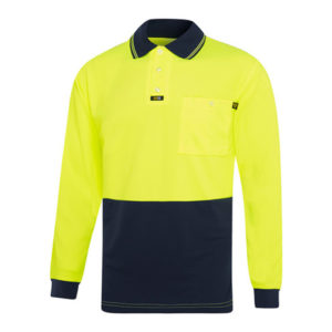 Visitec - Airwear Long Sleeve Polo Shirt