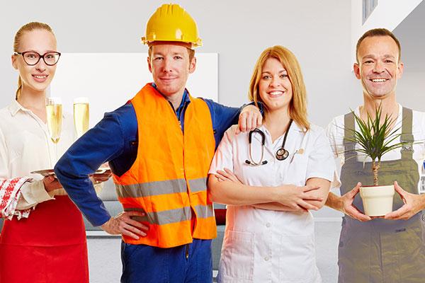 Industry worker uniforms