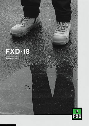 FXD Boots Catalogue 2018