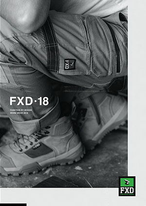 FXD Workwear Catalogue 2018